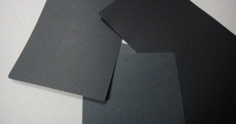 单面透心黑卡纸