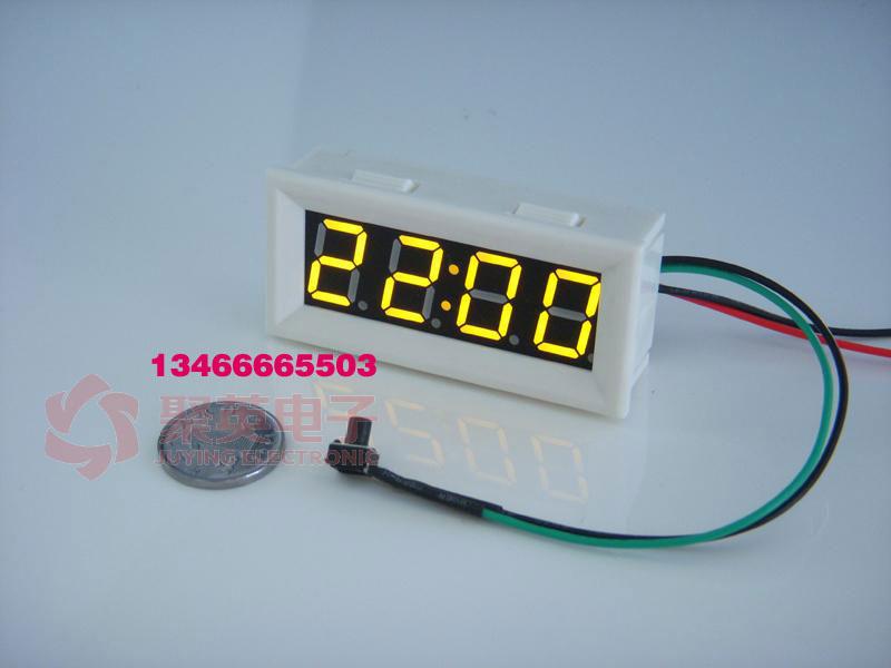 精准led数显时钟表汽车电动车用可调车载