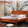 玉平美家全实木床1.8双人床胡桃木实木床现代中式木床