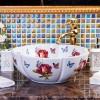 景德镇陶瓷艺术盆卫生间洗脸盆洗手盆地中海现代中欧式台上盆