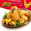 韩式炸鸡店加盟哪家好,热辣基地推出众多炸鸡美食
