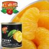 微信零食水果罐头红派司糖水橘子罐头312g×12罐