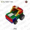 韩端教育机器人Kikcy系列,儿童积木玩具创客教育机器人