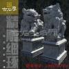 惠安古石厚石雕雕刻风水石狮摆件石材大门动物大象麒麟园林建设