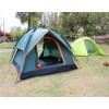 全自动户外帐篷3-4人防雨露营装备双人双层防撕裂野营帐篷