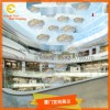 夏季美陈玻璃钢气球冰块水滴装饰挂饰商场中庭吊饰橱窗布置道具
