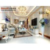 实创装饰完美家装经典版|上林溪120平简约欧式风格装修方案