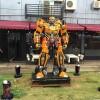 大变形金刚模型广场大型摆件机器人擎天柱大黄蜂大型摆件