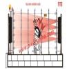 艾礼富双鉴围栏探测器厂家立式型红外光栅采购广州市艾礼富电
