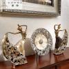 优质客厅摆件饰品/高档奢华欧式绣花窗帘效果/青岛饰家街电子商