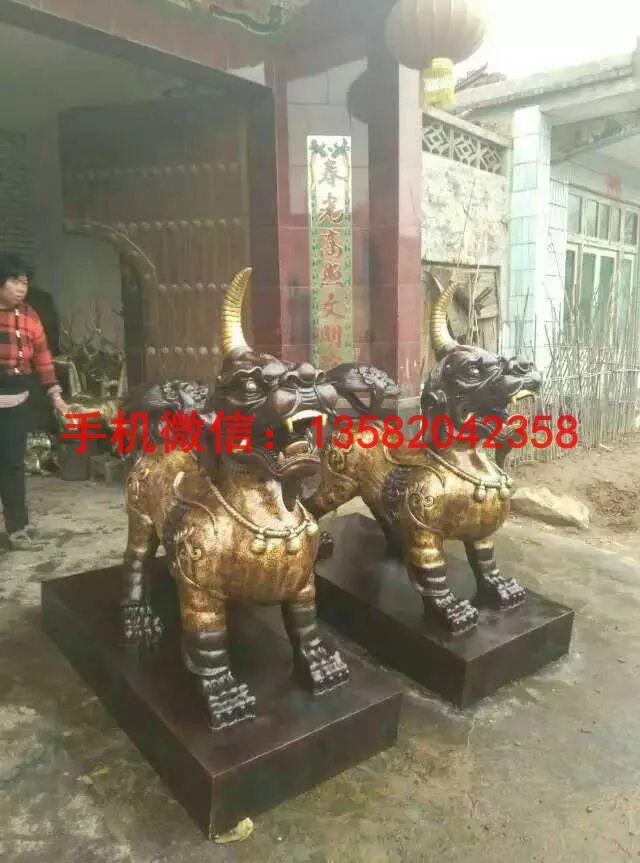 独角兽制作 动物铜雕塑