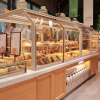 面包柜面包展示柜中岛柜边柜定做铁艺实木蛋糕柜抽屉式玻璃展柜