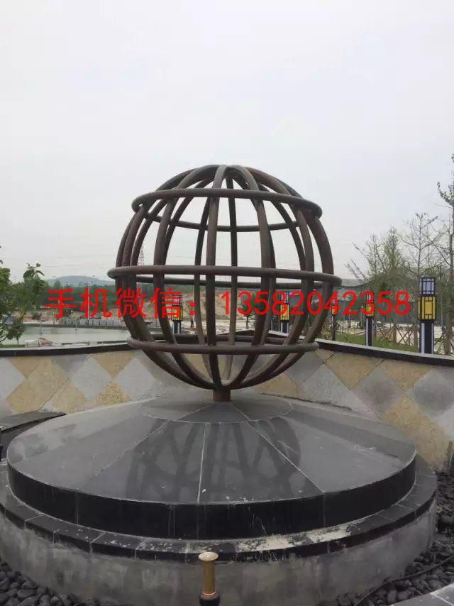 吉林钢管不锈钢地球仪不锈钢钢管地球仪雕塑厂家