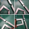 新型不锈钢槽钢角铁镀锌管液压冲孔机冲弧机坡口机