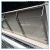 上海不锈钢玻璃栏杆厂家定制不锈钢栏杆上海皇哲供