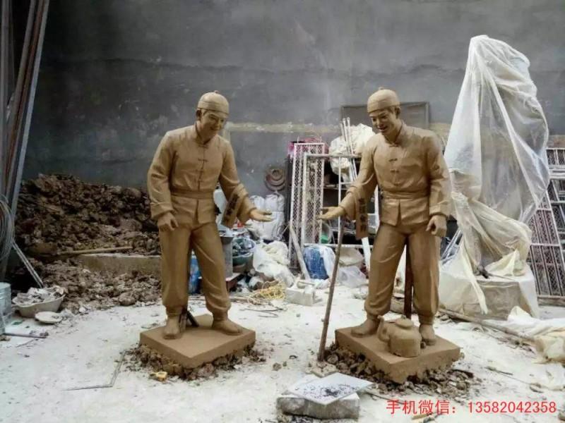 人物泥塑,泥塑雕塑,泥塑雕塑图片大全