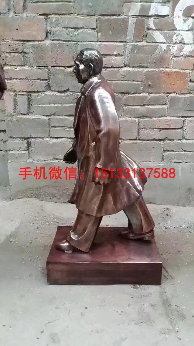 邓小平人物铜雕塑 伟人铜雕塑4
