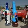 ktv酒瓶雕塑质美价廉玻璃钢艺术品玻璃钢雕塑厂家