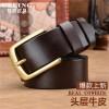 广州厂家批发品牌订做腰带真皮休闲头层牛皮皮带工厂加工定制