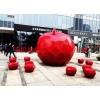 玻璃钢仿真苹果雕塑,水果玻璃钢雕塑制作厂家