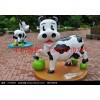 提供玻璃钢奶牛雕塑,玻璃钢公园雕塑