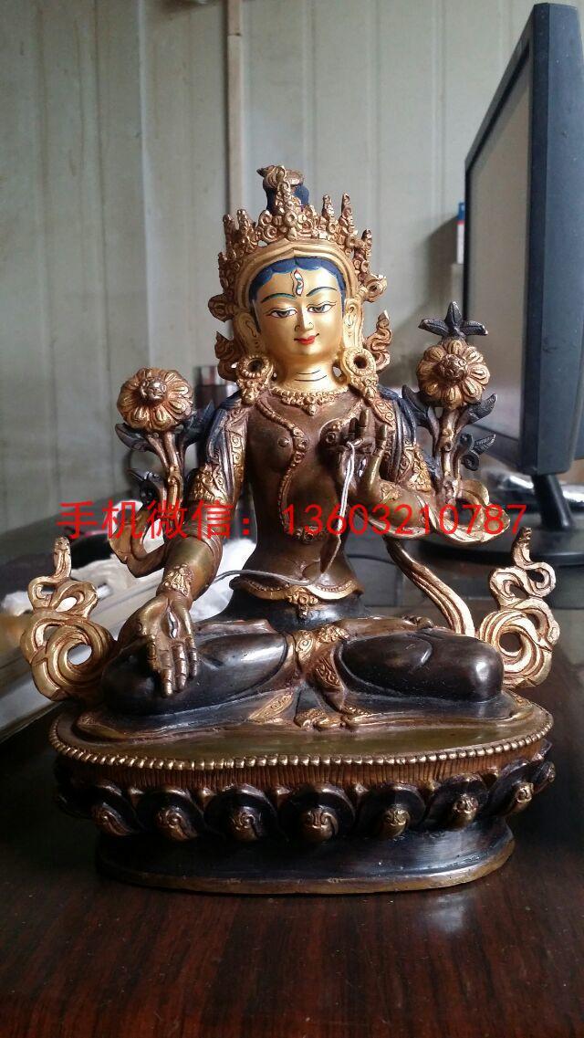 白度母藏佛像