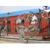 不锈钢镂空地球仪雕塑,金属镂空雕塑厂家