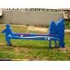 不锈钢公园座椅雕塑,河北不锈钢雕塑厂家