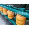 公路防撞旋转桶式护栏EVA实心旋转桶青岛新盛专业生产