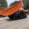 矿石工程运输车履带建筑运输车