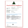灯具RCM认证,墙头灯RCM检测投光灯RCM认证