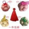 廠家批發120孔雞蛋網袋15玫裝加網扣一套小網眼包郵