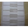厂家订做50*11撕不烂饰品间隔胶标签牛油标签纸空白标签