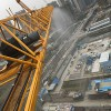 塔吊专用喷淋万向节旋转接头塔吊防尘喷雾降尘永不绕线