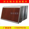 水帘湿帘降温温室大棚降温水帘墙10-15公分负压风机镀