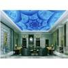 广州供应现代简约风3DUV彩绘铝扣板天花吊顶