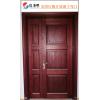 广东原木门厂红橡原木开放漆子母门双开门厂价直销