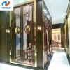 重庆不锈钢屏风隔断黄钛金不锈钢屏风花格千锤百炼金属制厂