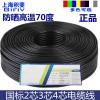 国标纯铜RVV护套线工业电缆电源监控电线