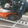 大象牌4米轮履式机械用高强度叉车铝梯