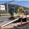 大象牌3.2米轮履式机械专用高强度挖机铝梯