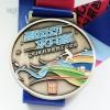 上海马拉松比赛奖牌定做锌合金奖牌制作运动金属奖牌制作