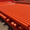 甘肃兰州轩驰牌mpp电缆保护管橘红色直埋管拉管规格齐全