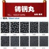 鲁贝厂家供应型号齐全高硬度金属磨料欢迎选购钢丸钢砂